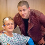 RSF Ambassador Nick Jonas Visits Seacrest Studios Orange County