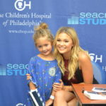 "Olivia Holt Sings Her Song ""Phoenix"" At Seacrest Studios Philadelphia"