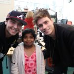 Wesley Stromberg & Spencer Sutherland Visit Patients in Atlanta