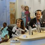 Nigel Barker Is Interviewed By Patients At Seacrest Studios In Washington, D.C.