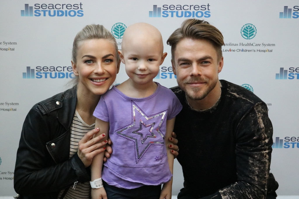Julianne & Derek Hough Dance With Patients All Around ...