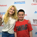 Zara Larsson Interviewed By Patients At Seacrest Studios in D.C.