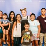 Lizzy Greene Hosts Games For Kids In Seacrest Studios