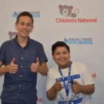 Tyler Miller Sings For Patients In Seacrest Studios Washington D.C.