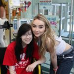 Sabrina Carpenter Performs For Patients At Seacrest Studios Atlanta