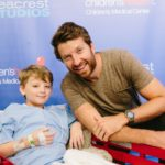 Brett Eldredge Spreads Smiles at Seacrest Studios in Dallas