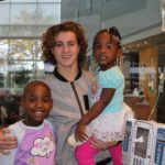 Actor Brandon Spink Visits Children's Healthcare of Atlanta!