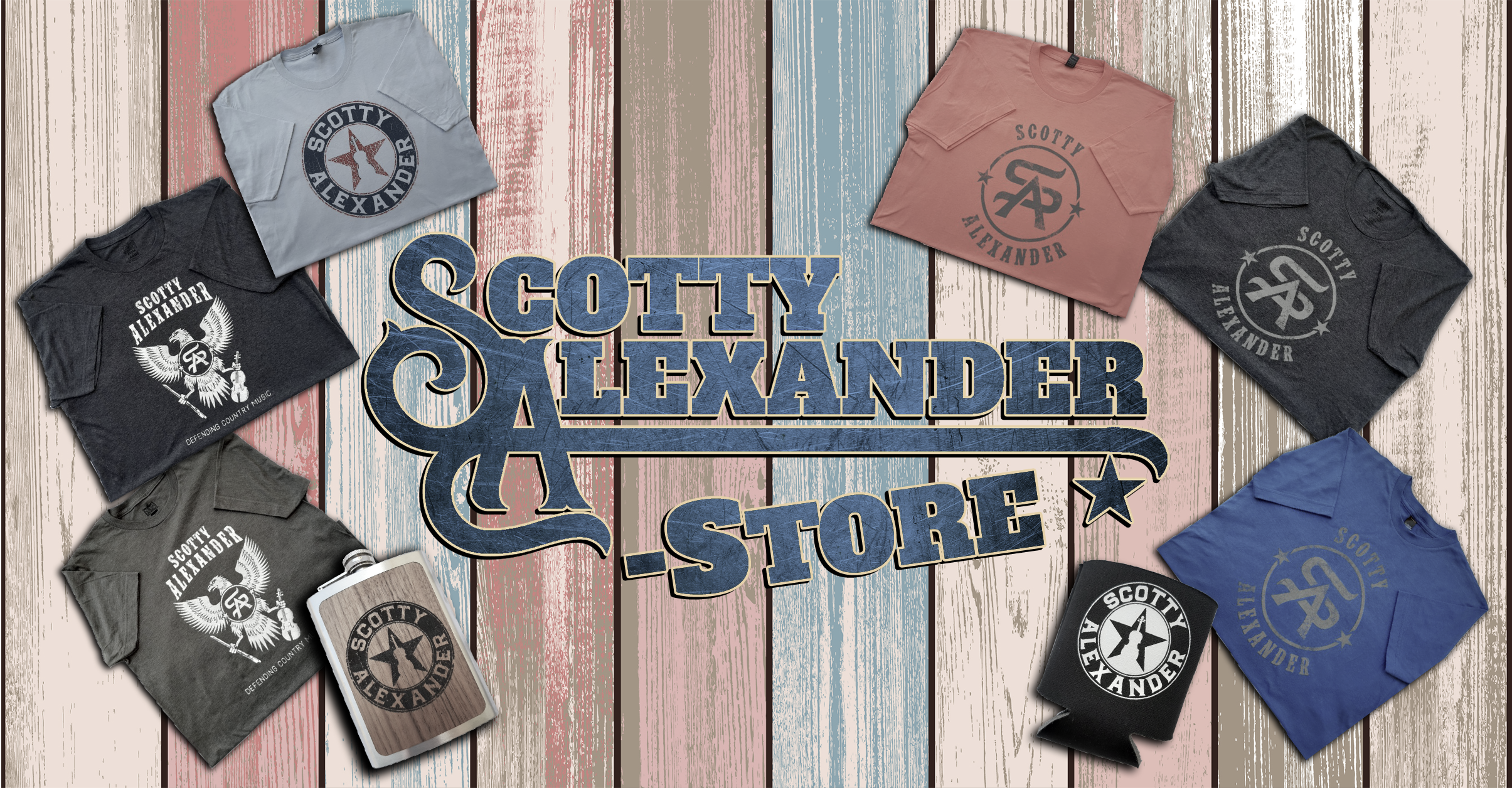 Now Open Check out Scotty's new online store