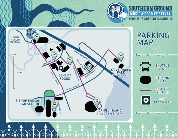 2016 Southern Ground Festival Parking Map