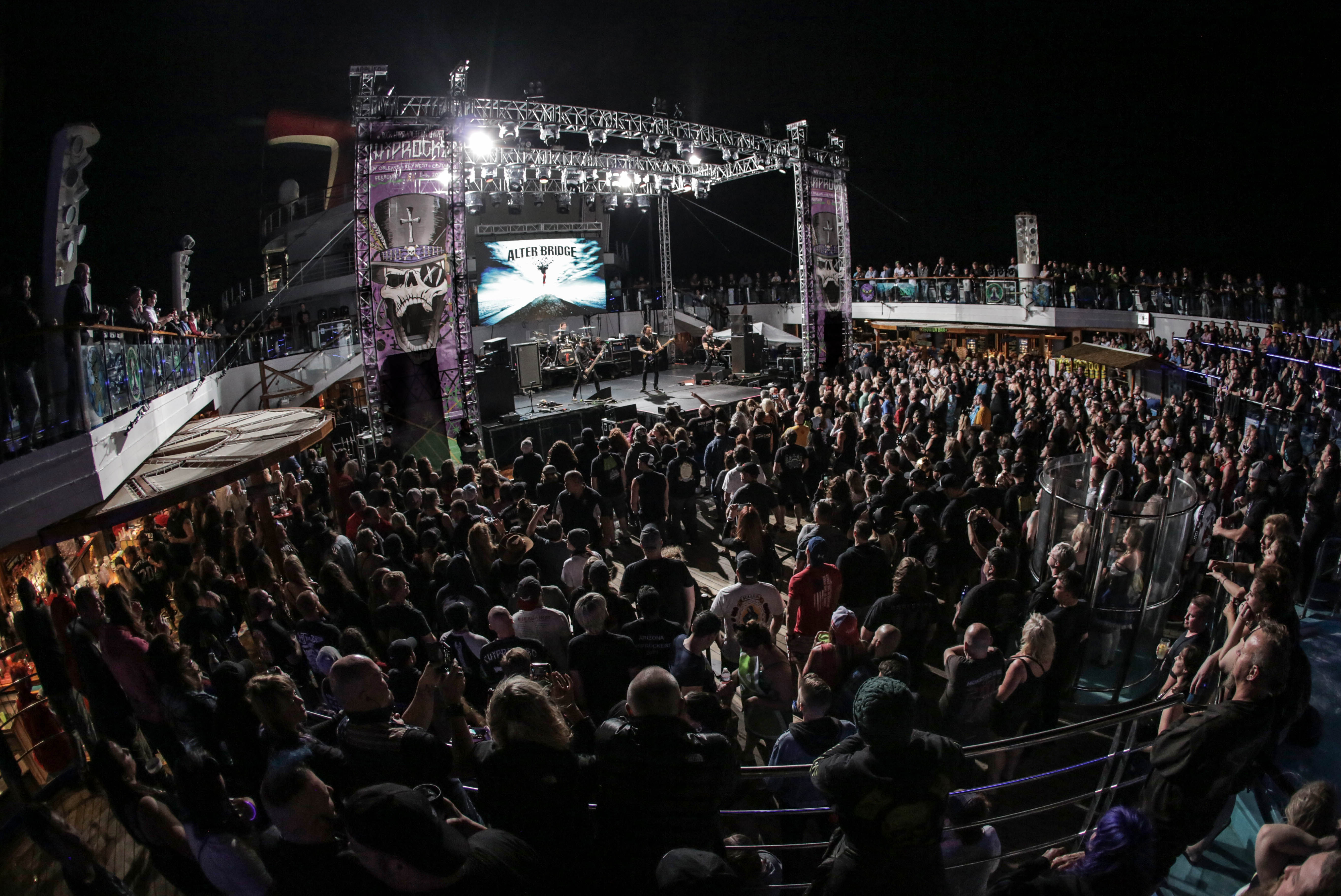 Lido Deck Stage