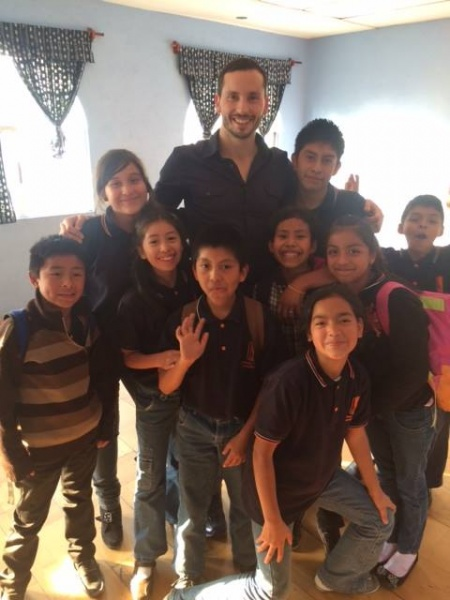 Boys Hope Girls Hope NOLA Alum, Nick Varuso, Visited BHGH Guatemala to Talk with their Scholars