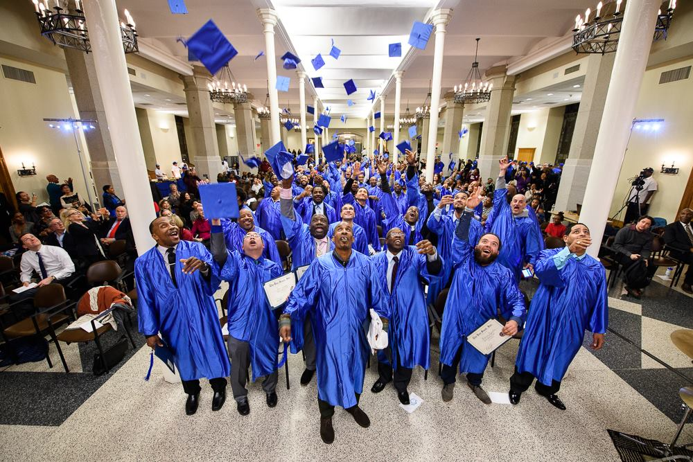 Doe Fund 2018 Ready, Willing & Able Graduation
