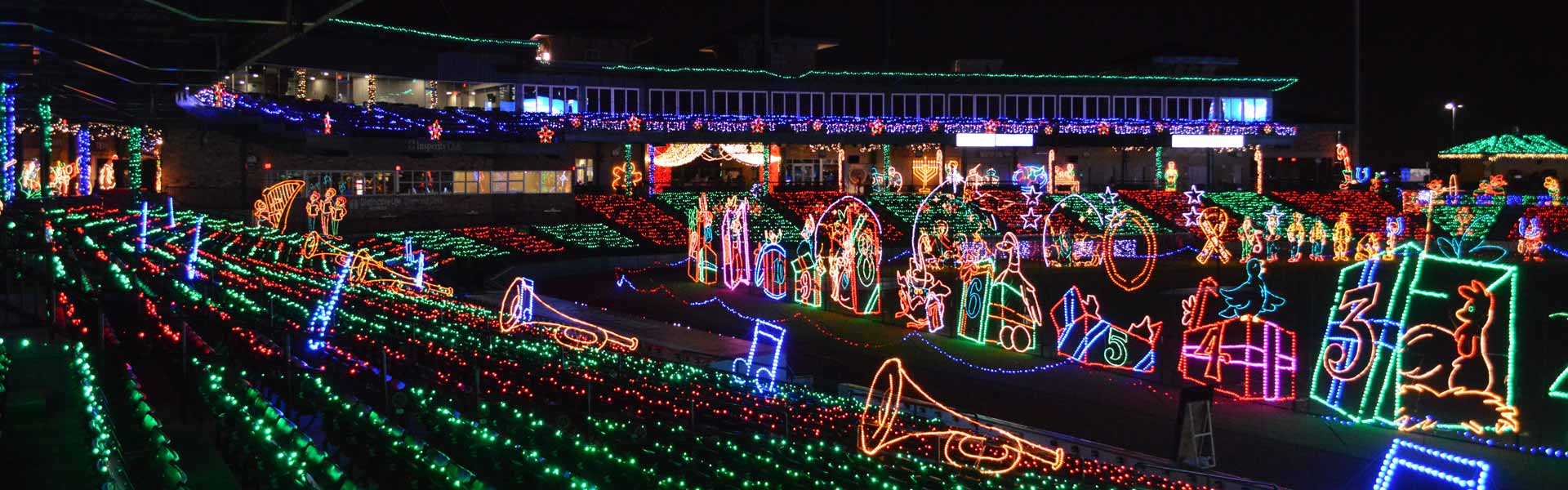 Image result for Holiday Lights constellation field