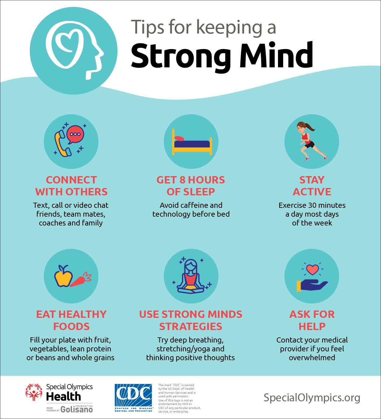 Tips for keeping a strong mind