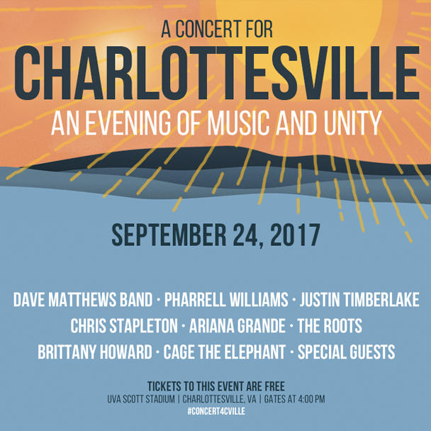A Concert for Charlottesville