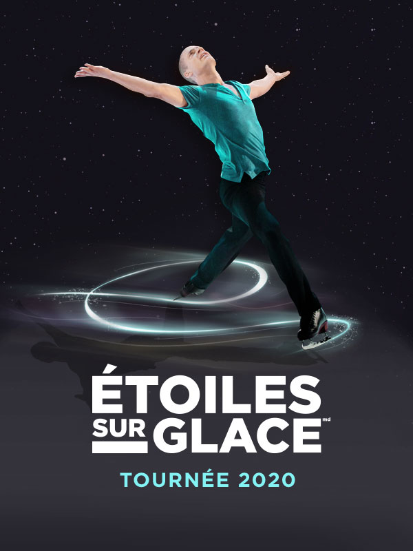 Stars on Ice Vertical Keyart (French - 2020)