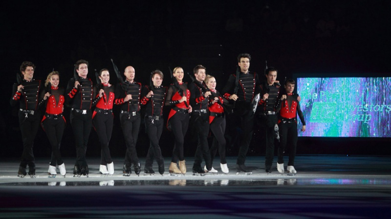 Stars on Ice Tour Vancouver 2015