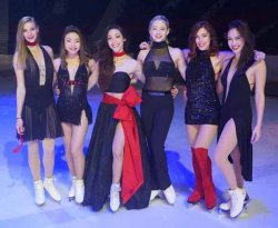 The Ladies of Stars on Ice