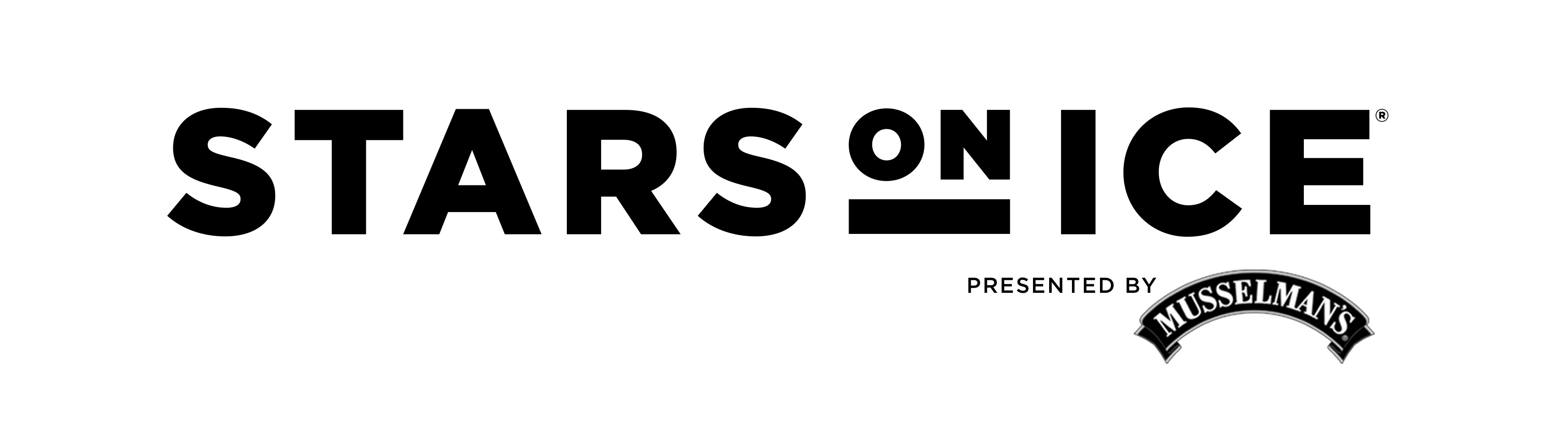 Stars on Ice B/W Logo