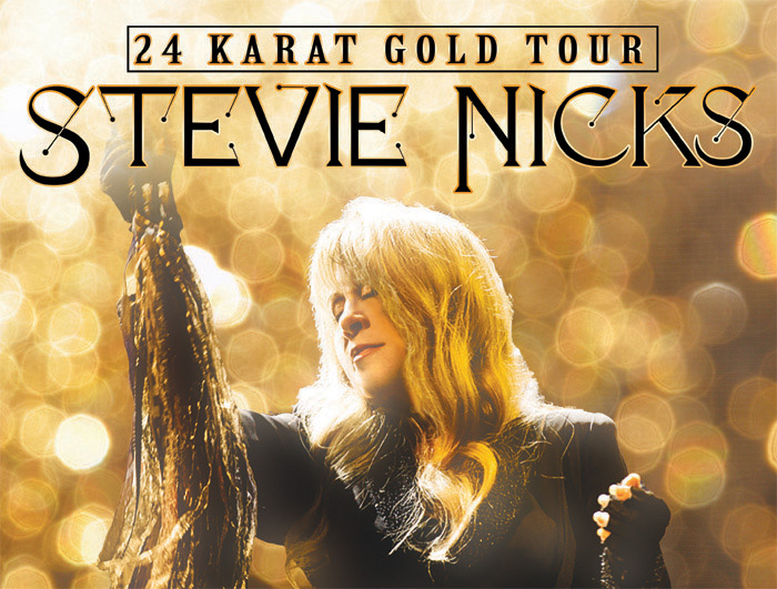 STEVIE NICKS ANNOUNCES 27 CITY NORTH AMERICAN 24 KARAT GOLD TOUR WITH PRETENDERS