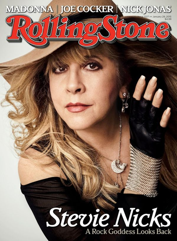 Stevie Nicks on the Cover of Rolling Stone