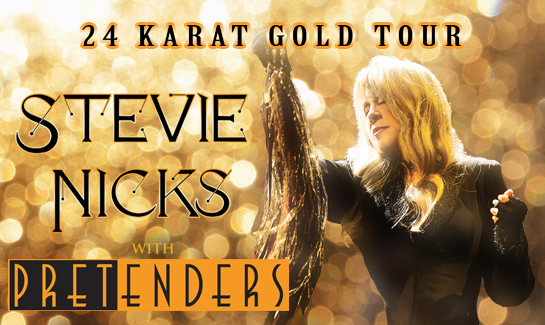Stevie Nicks and The Pretenders Announce New Zealand Shows for Exclusive Run of 24 Karat Gold Tour