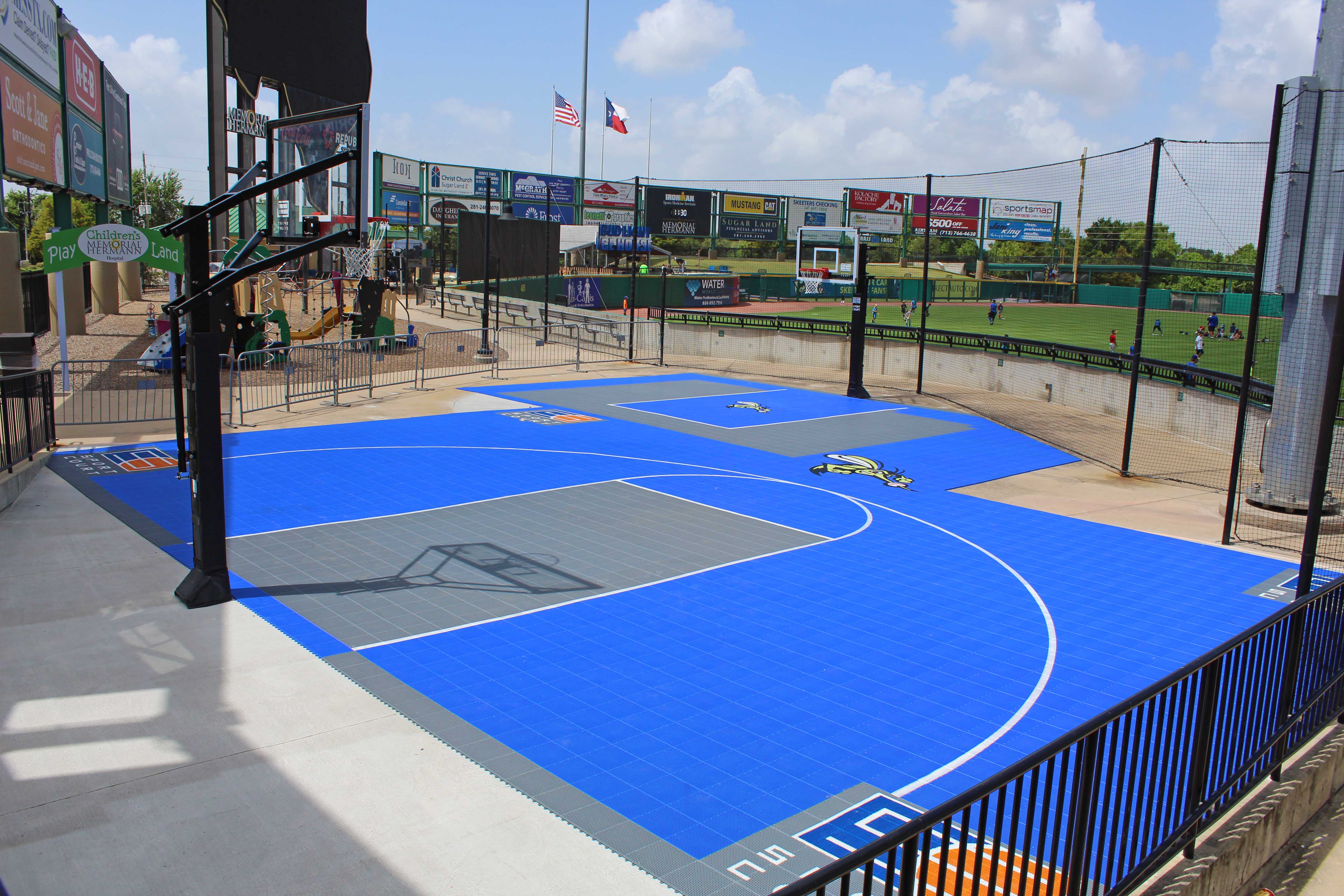 Skeeters Announce Unveiling of Sport Court of Texas