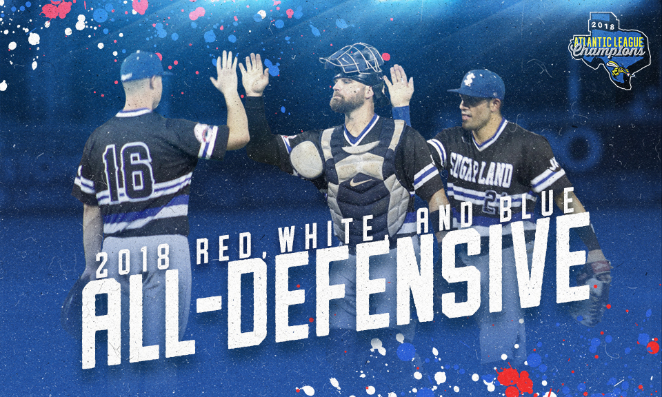 Trio of Skeeters Selected to Red, White and Blue All-Defensive Team