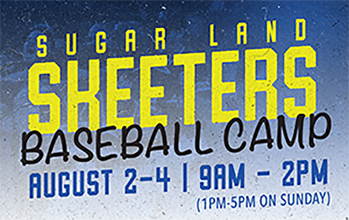Skeeters Baseball Camp (Aug. 2-4)