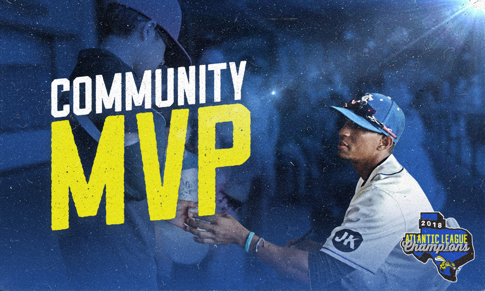 Alvaro Rondon Named Skeeters Community Man of the Year