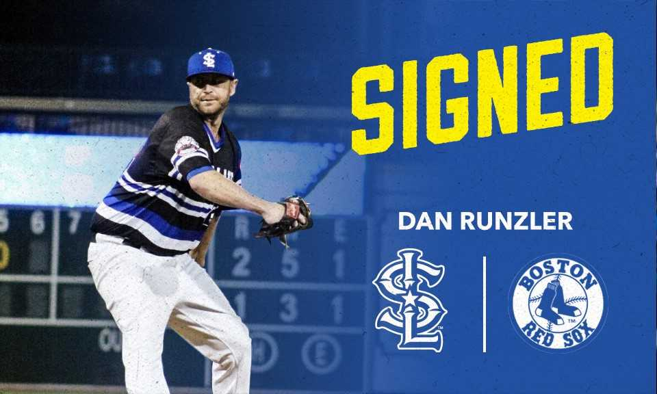 Former Skeeters Left-Hander Dan Runzler Signs With Boston Red Sox