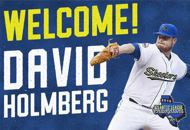 Skeeters Sign Former Major League LHP David Holmberg