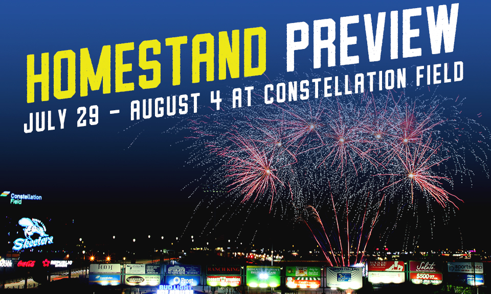 July 29 - August 4 at Constellation Field