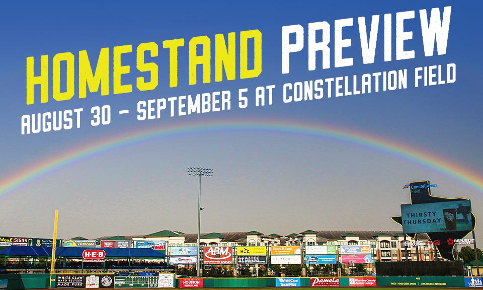 August 30 - September 5 at Constellation Field