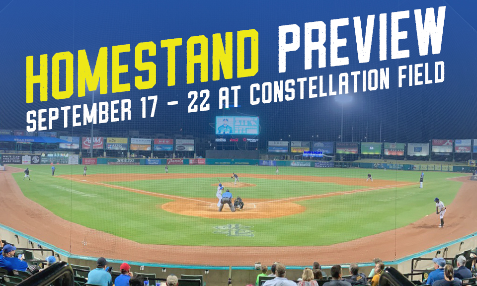 September 17 - 22 at Constellation Field