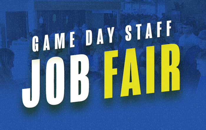 Game Day Staff Job Fair