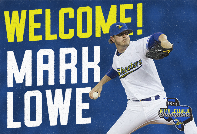 Skeeters Sign Longtime MLB Reliever Mark Lowe