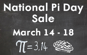 National Pi Day Sale