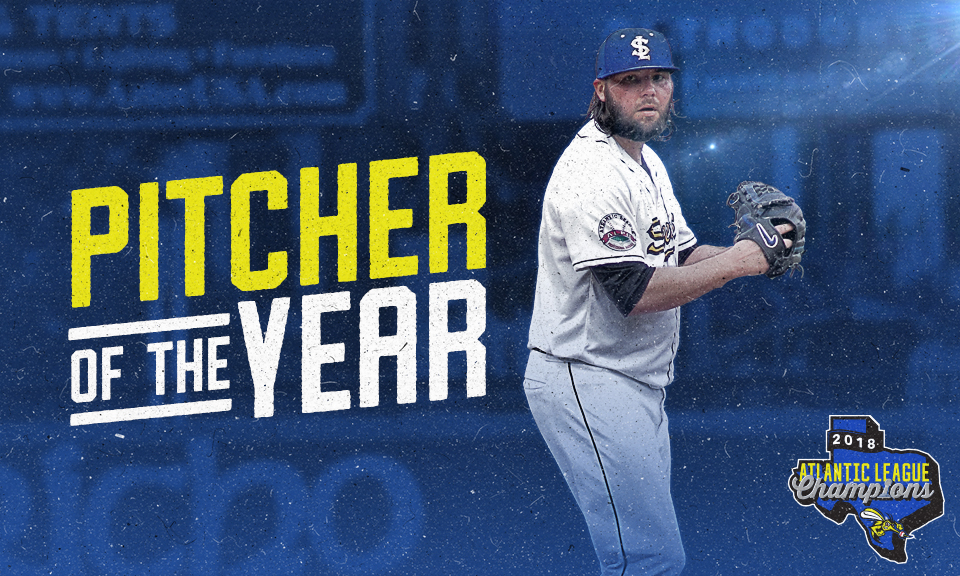 James Russell Named 2018 Skeeters Pitcher of the Year