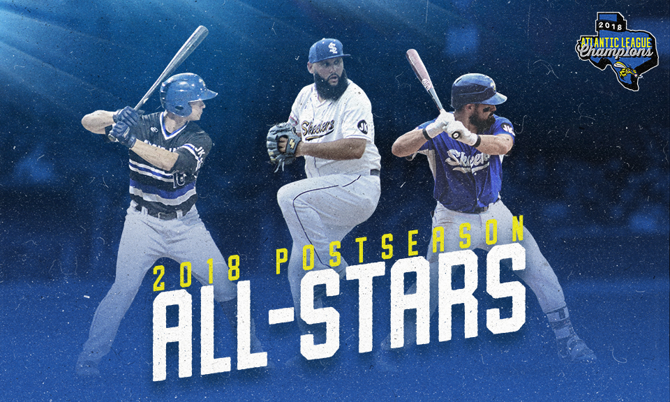 Three Skeeters Named to Atlantic League Post-Season All-Star Team