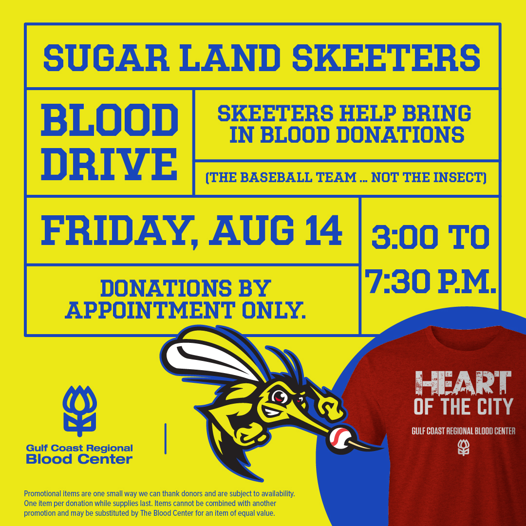Blood Drive at Constellation Field