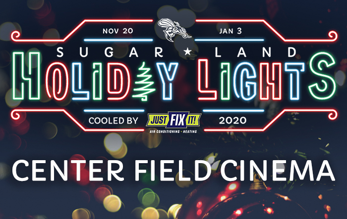 Sugar Land Holiday Lights: Center Field Cinema