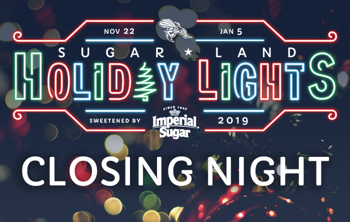 Sugar Land Holiday Lights - Closing Night