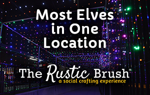Sugar Land Holiday Lights - Most Elves in One Location / The Rustic Brush