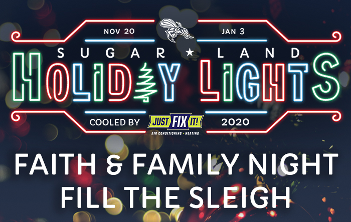 Sugar Land Holiday Lights: Faith & Family Night