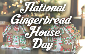 Sugar Land Holiday Lights - National Gingerbread House Day