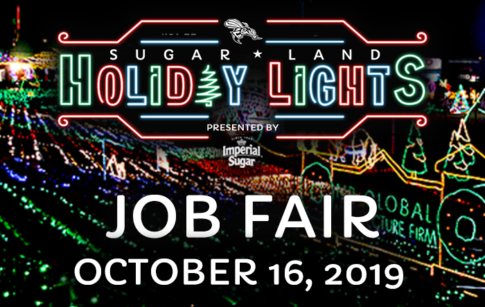 Sugar Land Holiday Lights Job Fair