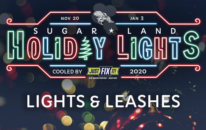 Sugar Land Holiday Lights: Lights & Leashes