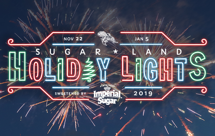 Sugar Land Holiday Lights / New Years Fireworks Show