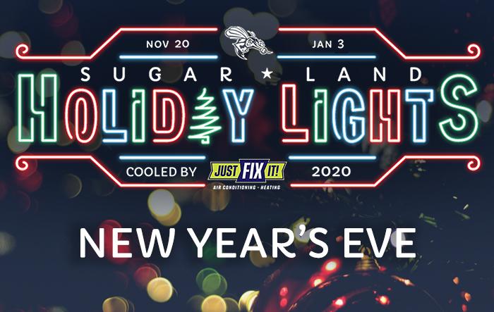 Sugar Land Holiday Lights: NYE